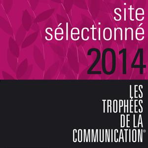Site sélectionné aux trophées de la communication 2014.